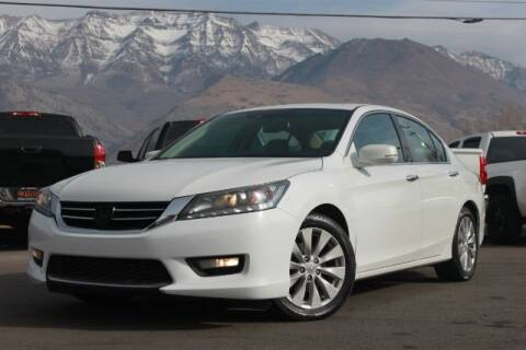 2015 Honda Accord for sale at REVOLUTIONARY AUTO in Lindon UT