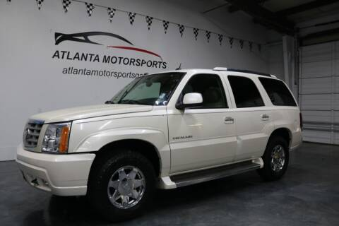 2005 Cadillac Escalade for sale at Atlanta Motorsports in Roswell GA
