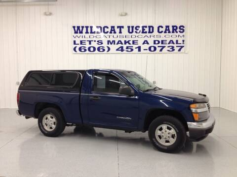 2004 GMC Canyon for sale at Wildcat Used Cars in Somerset KY