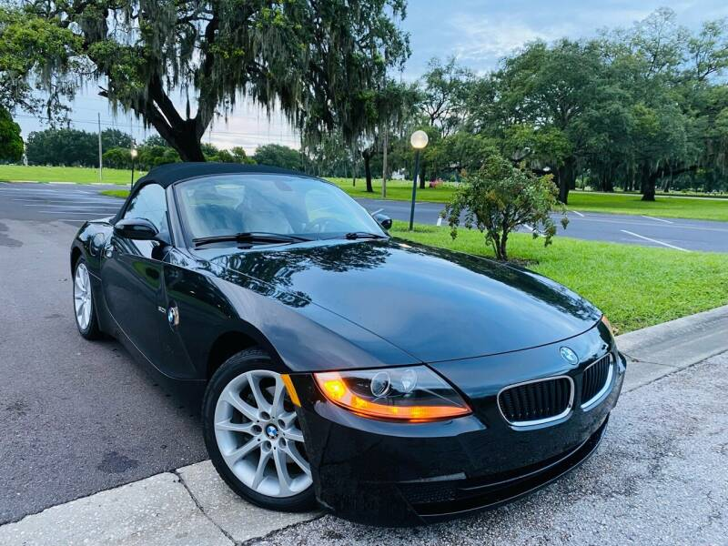 2006 BMW Z4 for sale at FLORIDA MIDO MOTORS INC in Tampa FL