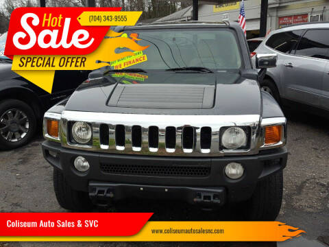2007 HUMMER H3 for sale at Coliseum Auto Sales & SVC in Charlotte NC