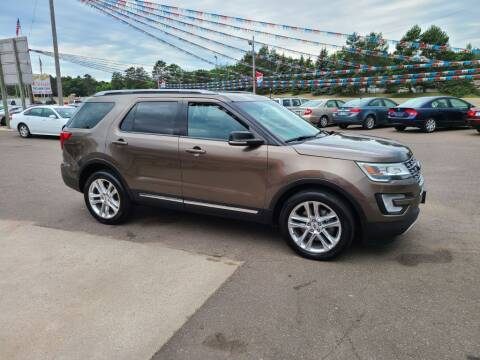 2016 Ford Explorer for sale at Rum River Auto Sales in Cambridge MN