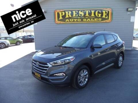2017 Hyundai Tucson for sale at PRESTIGE AUTO SALES in Spearfish SD