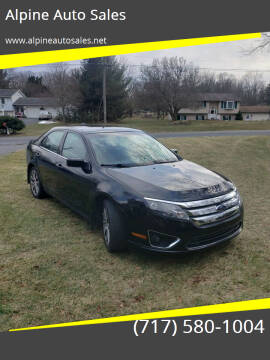 2010 Ford Fusion for sale at Alpine Auto Sales in Carlisle PA