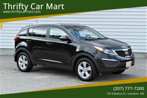 2013 Kia Sportage for sale at Thrifty Car Mart in Lewiston ME