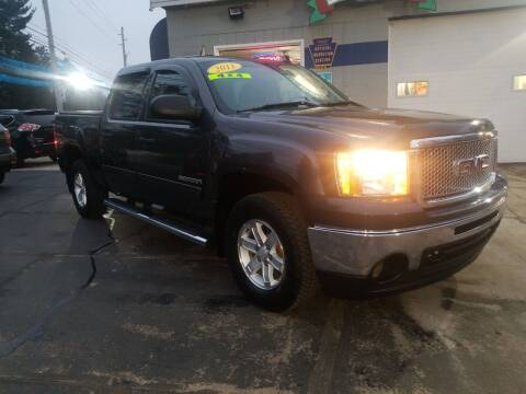 2011 GMC Sierra 1500 for sale at Bizzarro`s Fleetwing Auto Sales in Erie PA