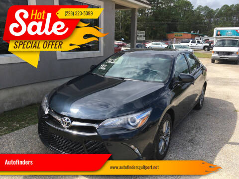 2017 Toyota Camry for sale at Autofinders in Gulfport MS