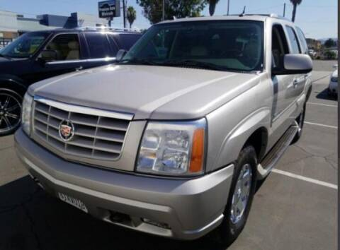 2004 Cadillac Escalade for sale at Shamrock Group LLC #1 in Pleasant Grove UT