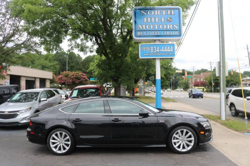 2012 Audi A7 for sale at North Hills Motors in Raleigh NC