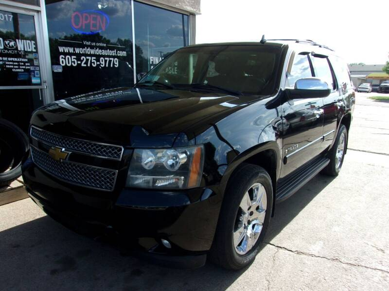 2007 Chevrolet Tahoe for sale at World Wide Automotive in Sioux Falls SD