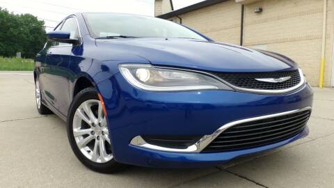 2016 Chrysler 200 for sale at Prudential Auto Leasing in Hudson OH