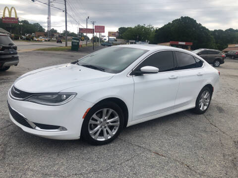 2015 Chrysler 200 for sale at Penland Automotive Group in Laurens SC