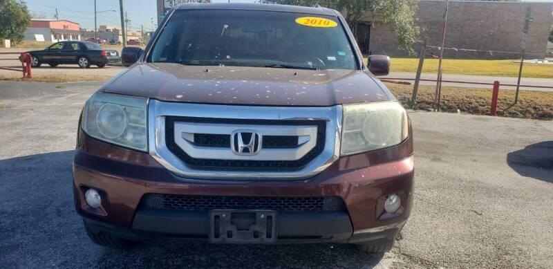2010 Honda Pilot for sale at Anthony's Auto Sales of Texas, LLC in La Porte TX