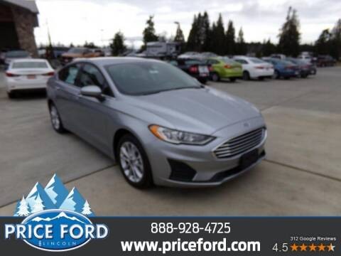 2020 Ford Fusion Hybrid for sale at Price Ford Lincoln in Port Angeles WA