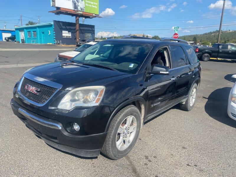 2008 GMC Acadia for sale at Cliff's Qualty Auto Sales in Spokane WA