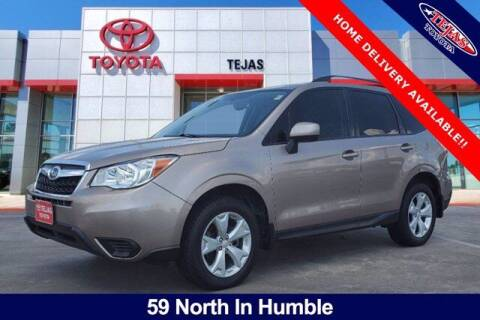 2016 Subaru Forester for sale at TEJAS TOYOTA in Humble TX