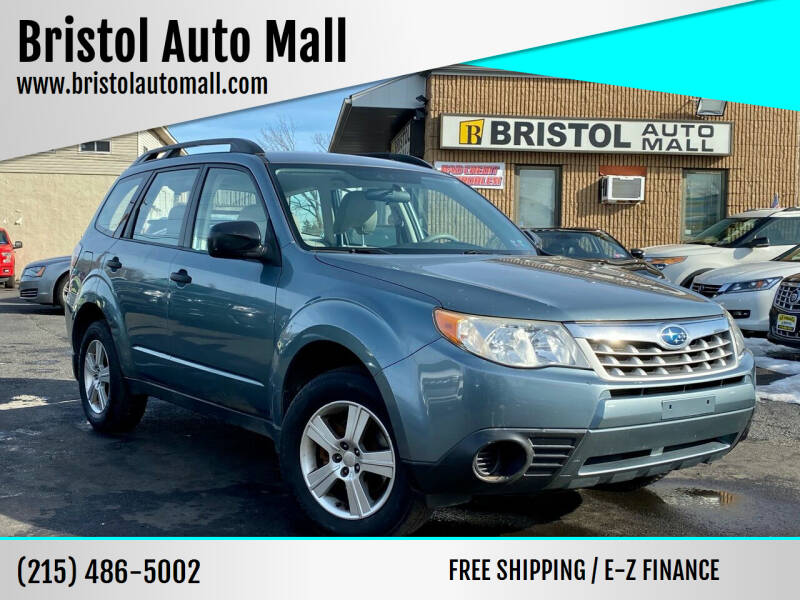 2011 Subaru Forester for sale at Bristol Auto Mall in Levittown PA