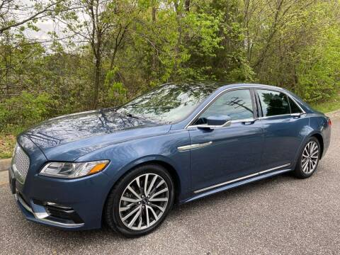 2018 Lincoln Continental for sale at Coastal Auto Sports in Chesapeake VA