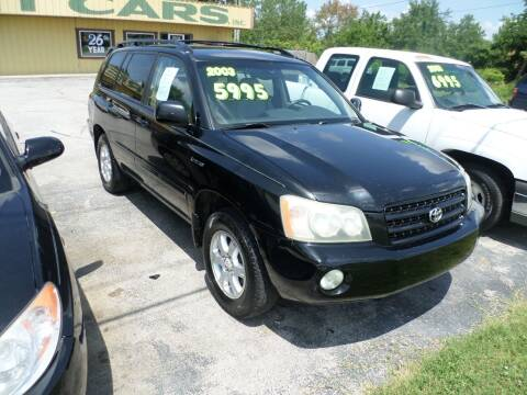 2003 Toyota Highlander for sale at Credit Cars of NWA in Bentonville AR
