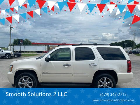 2012 Chevrolet Tahoe for sale at Smooth Solutions 2 LLC in Springdale AR