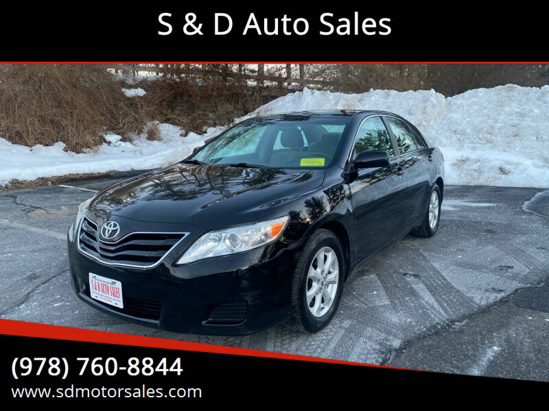 2011 Toyota Camry for sale at S & D Auto Sales in Maynard MA