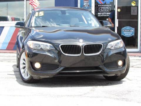 2015 BMW 2 Series for sale at VIP AUTO ENTERPRISE INC. in Orlando FL