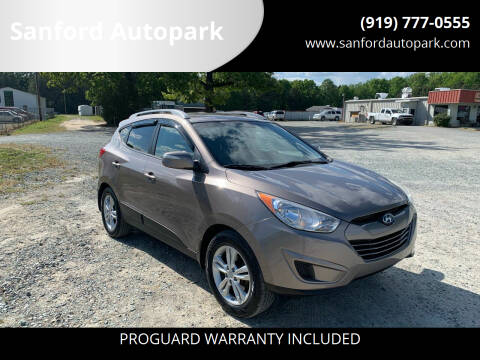 2012 Hyundai Tucson for sale at Sanford Autopark in Sanford NC