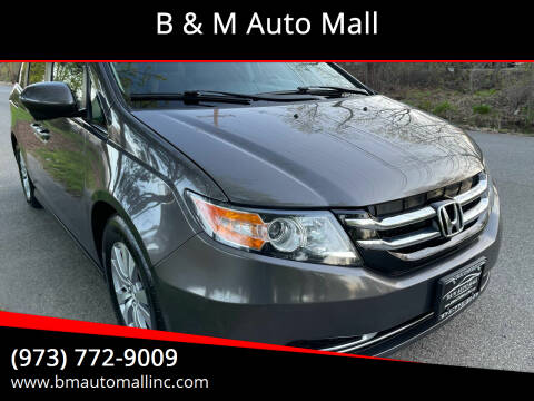 2015 Honda Odyssey for sale at B & M Auto Mall in Clifton NJ