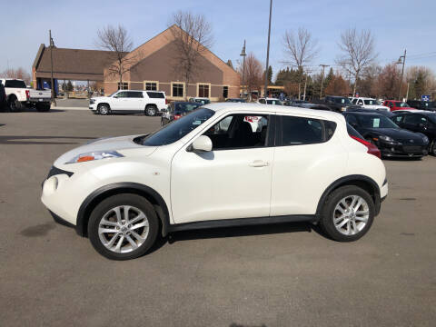 2014 Nissan JUKE for sale at ROSSTEN AUTO SALES in Grand Forks ND