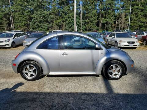 1999 Volkswagen New Beetle for sale at WILSON MOTORS in Spanaway WA