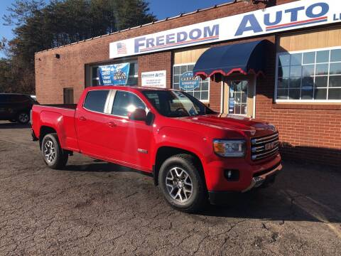 2016 GMC Canyon for sale at FREEDOM AUTO LLC in Wilkesboro NC
