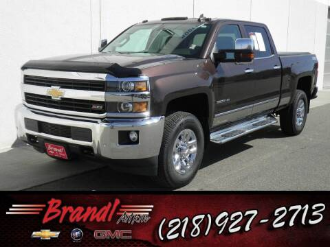 2016 Chevrolet Silverado 3500HD for sale at Brandl GM in Aitkin MN