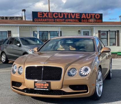 2017 Bentley Flying Spur for sale at Executive Auto in Winchester VA