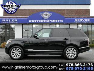 2014 Land Rover Range Rover for sale at Highline Group Motorsports in Lowell MA