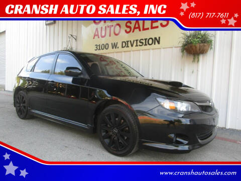 2010 Subaru Impreza for sale at CRANSH AUTO SALES, INC in Arlington TX