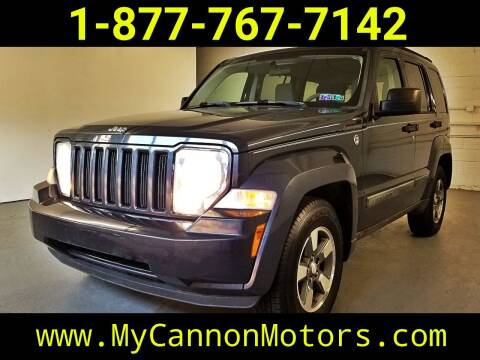 2008 Jeep Liberty for sale at Cannon Motors in Silverdale PA