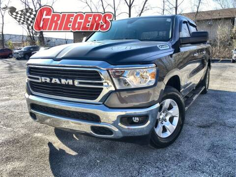 2019 RAM Ram Pickup 1500 for sale at GRIEGER'S MOTOR SALES CHRYSLER DODGE JEEP RAM in Valparaiso IN