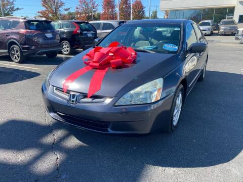 2004 Honda Accord for sale at Charlotte Auto Group, Inc in Monroe NC
