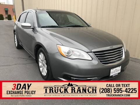 2013 Chrysler 200 for sale at Truck Ranch in Twin Falls ID
