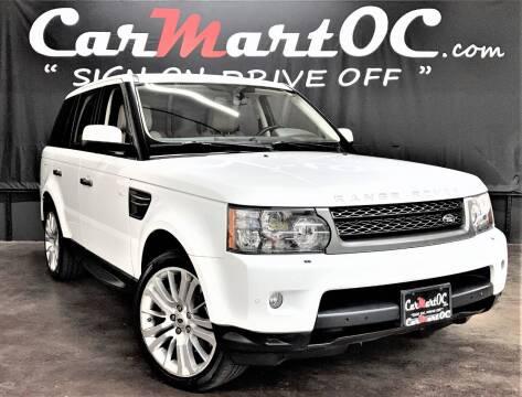 2011 Land Rover Range Rover Sport for sale at CarMart OC in Costa Mesa CA
