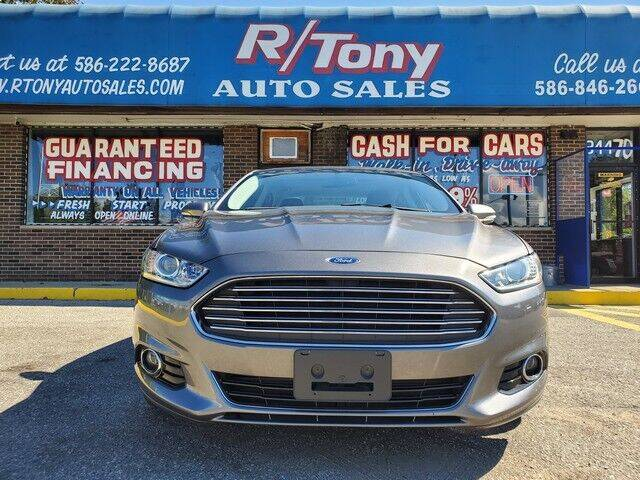 2014 Ford Fusion for sale at R Tony Auto Sales in Clinton Township MI