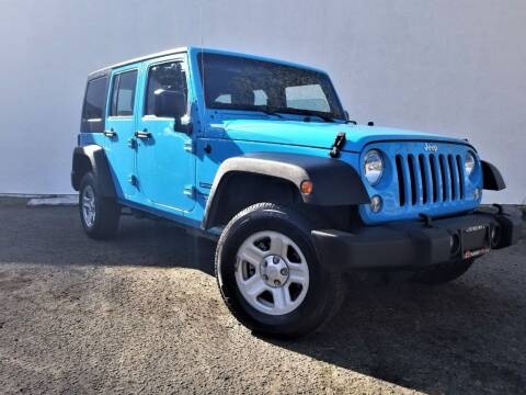 2018 Jeep Wrangler JK Unlimited for sale at Planet Cars in Berkeley CA