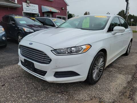 2013 Ford Fusion for sale at Hwy 13 Motors in Wisconsin Dells WI