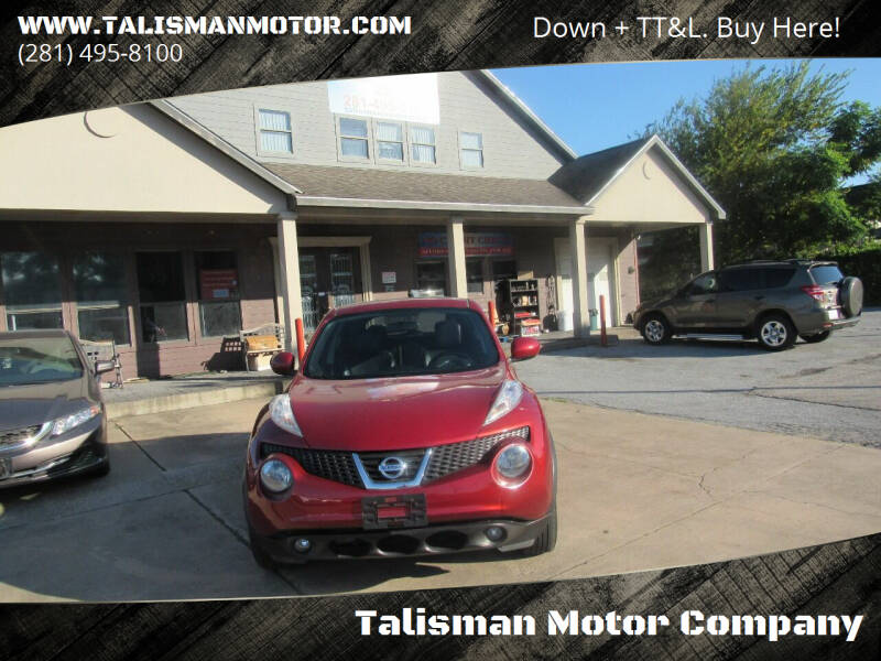 2012 Nissan JUKE for sale at Don Jacobson Automobiles in Houston TX