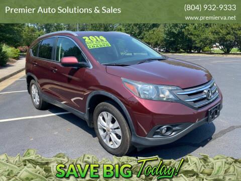 2014 Honda CR-V for sale at Premier Auto Solutions & Sales in Quinton VA