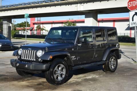 2016 Jeep Wrangler Unlimited for sale at STS Automotive - Miami, FL in Miami FL
