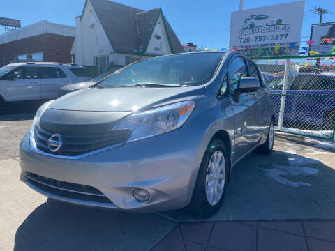 2014 Nissan Versa Note for sale at GO GREEN MOTORS in Denver CO