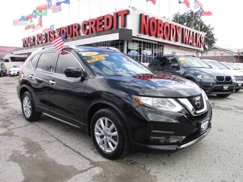 2017 Nissan Rogue for sale at Giant Auto Mart 2 in Houston TX
