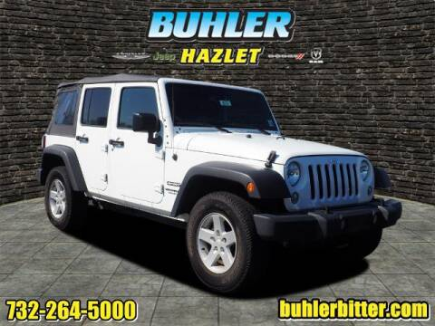 2017 Jeep Wrangler Unlimited for sale at Buhler and Bitter Chrysler Jeep in Hazlet NJ