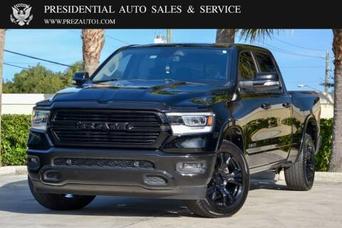 2019 RAM Ram Pickup 1500 for sale at Presidential Auto  Sales & Service in Delray Beach FL